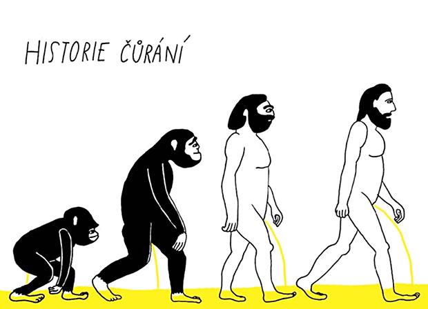 Evoluce čůrání.