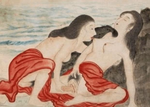japonská sexuální malba