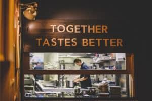 Together Tastes Better. Zdroj: Mosaic House.