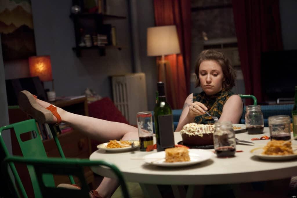 žena a jídlo