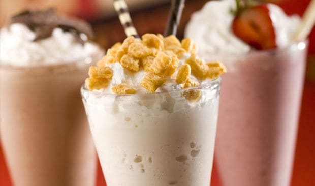 Milkshakes jsou neodolatelné!
