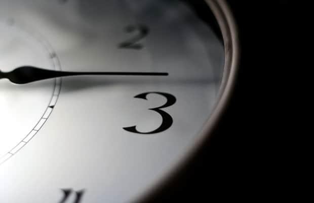 Dodržujte časový rozvh