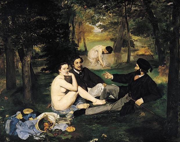 Édouard Manet - Snídaně v trávě