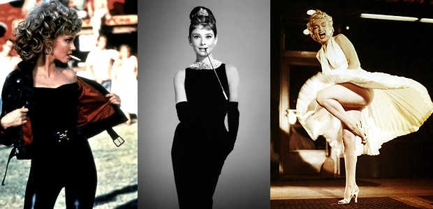 Olivia, Audrey a Marilyn.