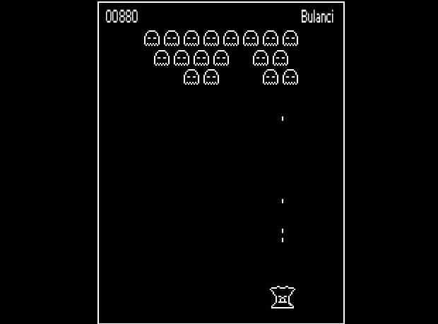 Úvodní obrázek levelu V zajetí 8-bitu