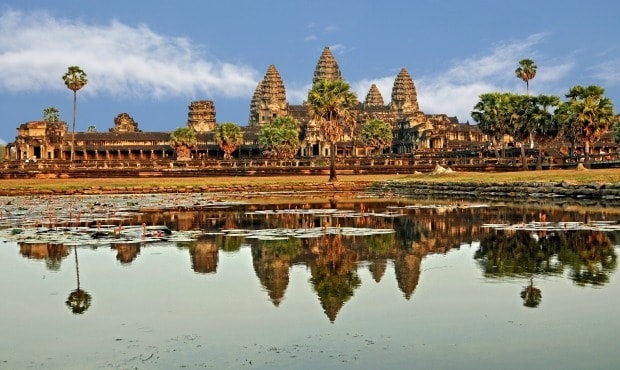 Angkor Wat, Kambodža.