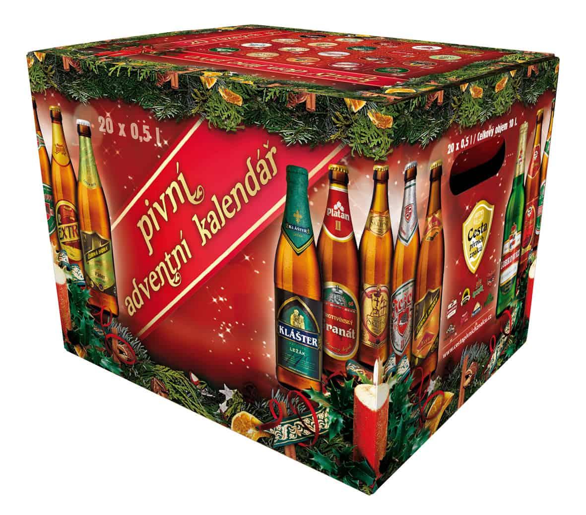 Pivní kalendář.