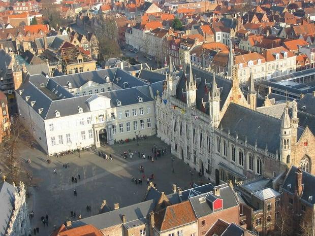 Náměstí De Burg, Bruggy.