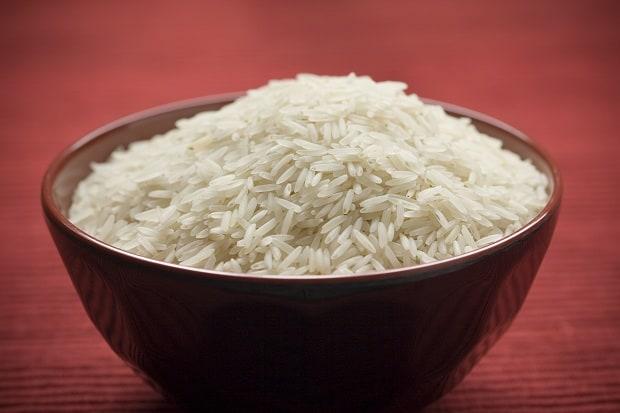 Nejoblíbenější přílohou v Indii je rýže.