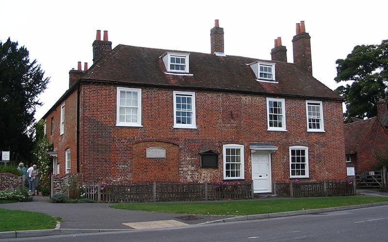 Dům, ve kterém Jane strávila téměř celý svůj život.