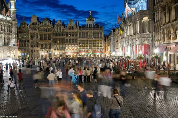 Grand Place Brusel.