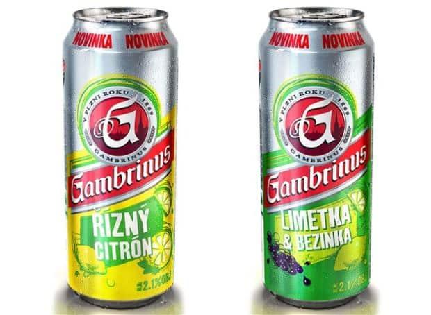 Citrónový Gambrinus (foto z www.alkoholia.cz)