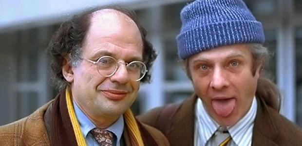 Allen Ginsberg se svým celoživotním partnerem Peterem Orlovskym.