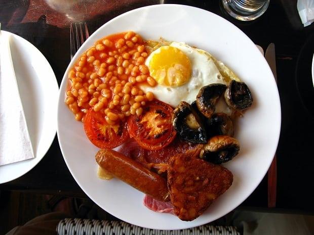 Anglická snídaně je ve světě pojem.