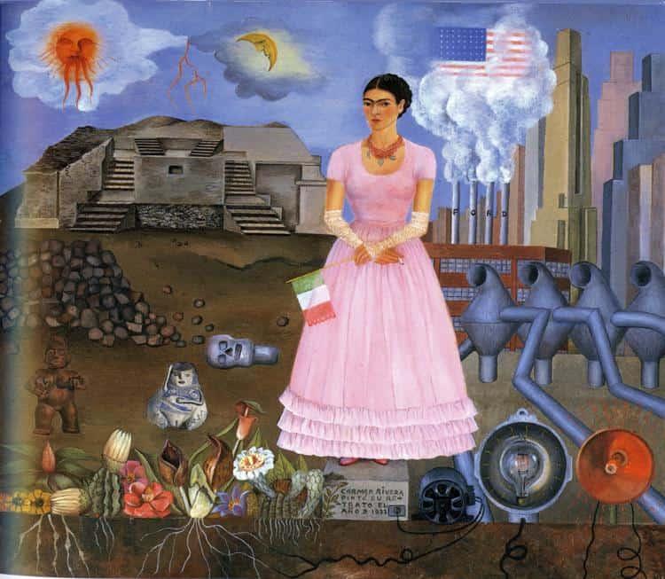 Autoportrét na hranici Mexika a USA