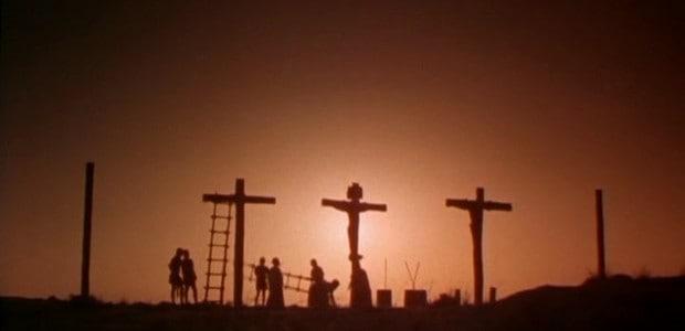 Ježíš zemřel na kříži.
