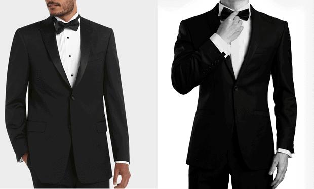 Black Tie - smoking (tuxedo).
