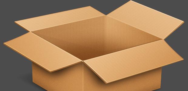 Použij podobnou krabici, kterou pro větší důveryhodnost i ozdob.