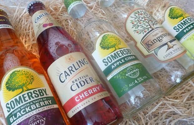 Letošní letní pití – cidery!