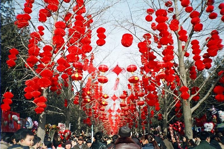 čínský Nový rok v Pekingu