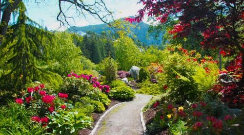 Squamish. Nádherné místo pro svatební obřad.