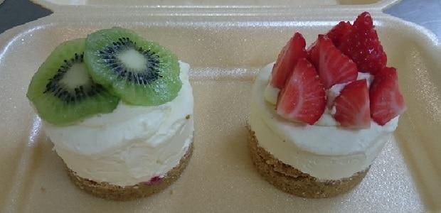Mini cheesecake.