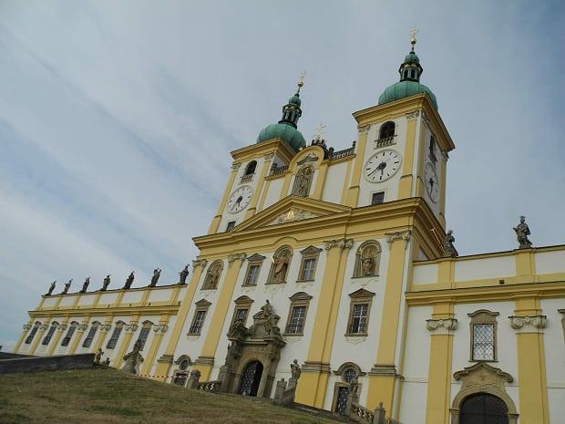 Bazilika na Svatém Kopečku.