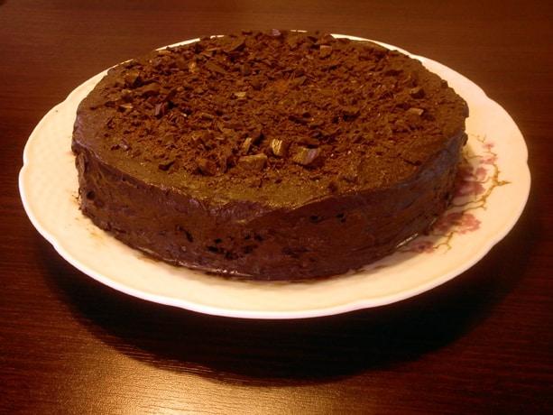 Tento čokoládový dort si zamilujete.