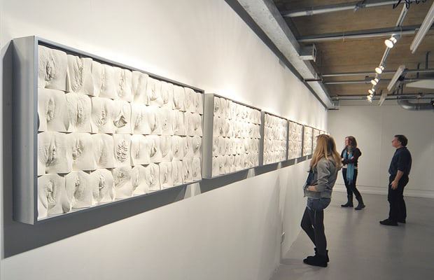 Výstava Velká zeď vagín