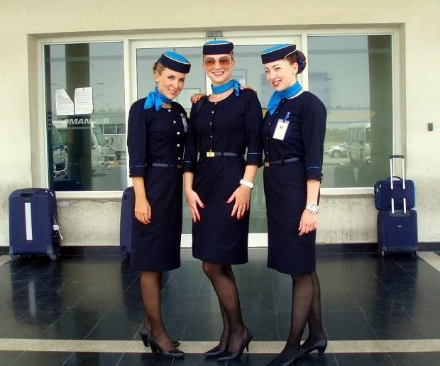 Jarmila měla tu možnost pracovat již u tří leteckých společností.