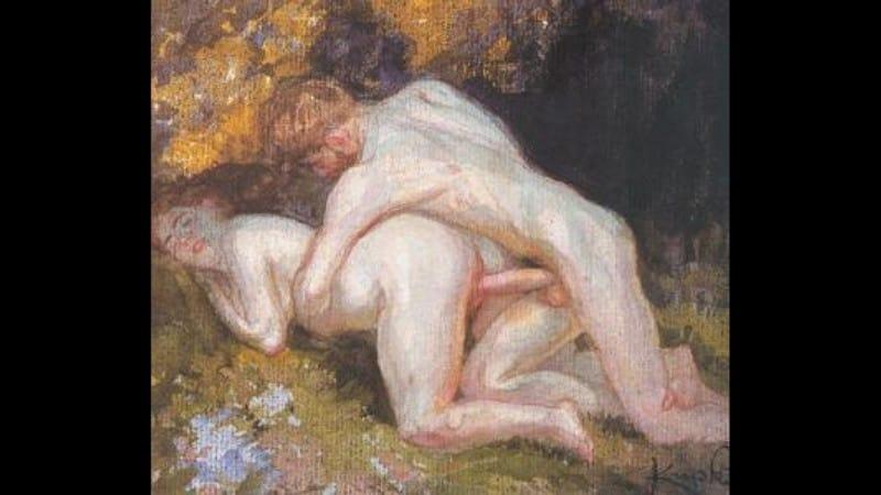František Kupka, Erotická scéna