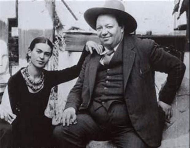 Frida a Diego.