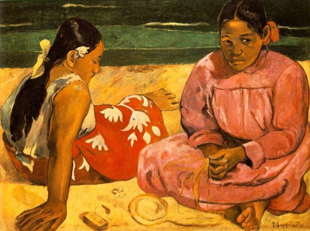 Paul Gaugin - Tahitské ženy