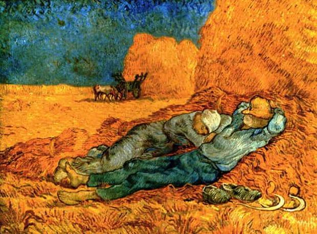 Vincent van Gogh - Odpočinek