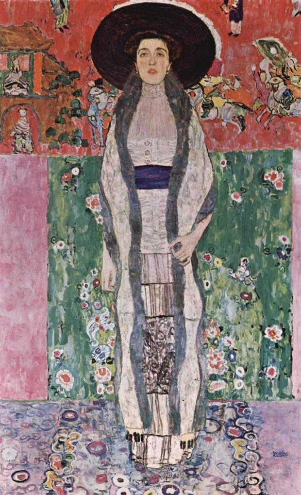 Gustav Klimt: Portrét Adély Blochové-Bauerové II