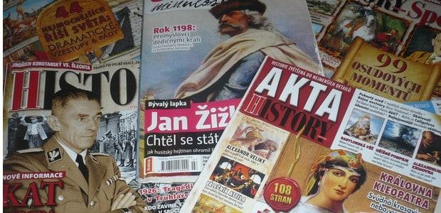 Komiksy nebo historické časopisy? Volba je na vás.
