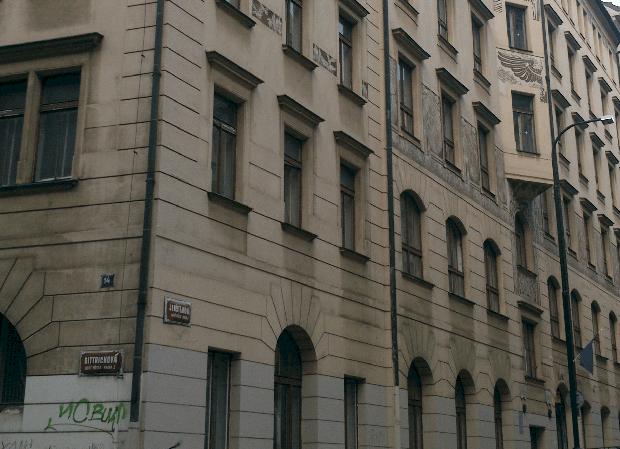 Historická budova Hlávkovy koleje.