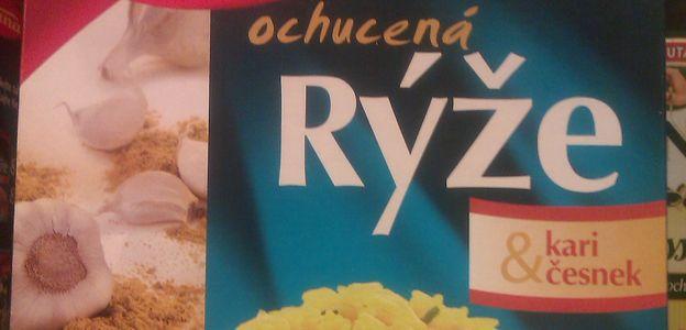 Ochucená rýže? FUJ!
