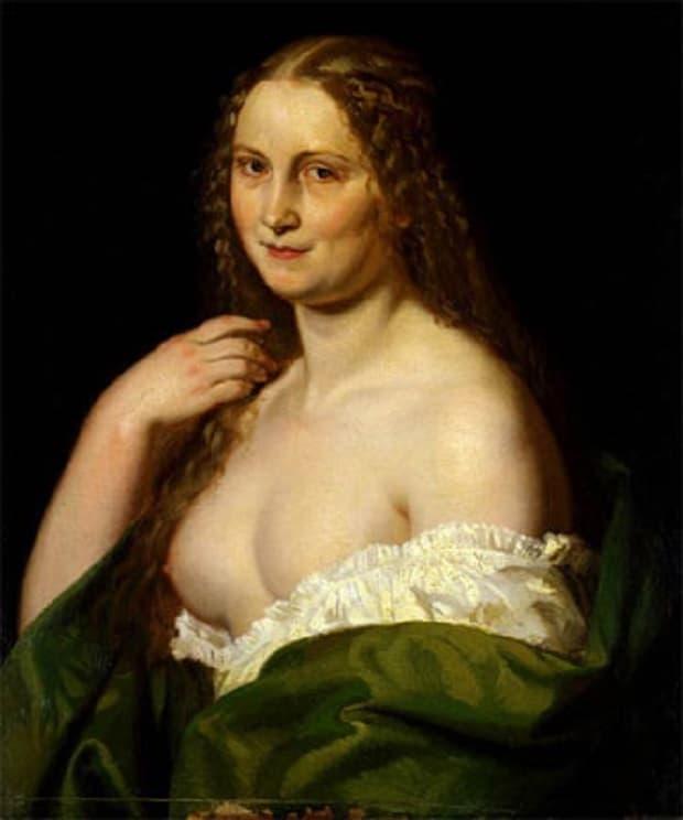Josefina - totožnost portrétované dívky zůstala dodnes neobjasněna.