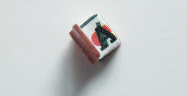 Nejmenší kniha na světě obsahuje jen písmena abecedy