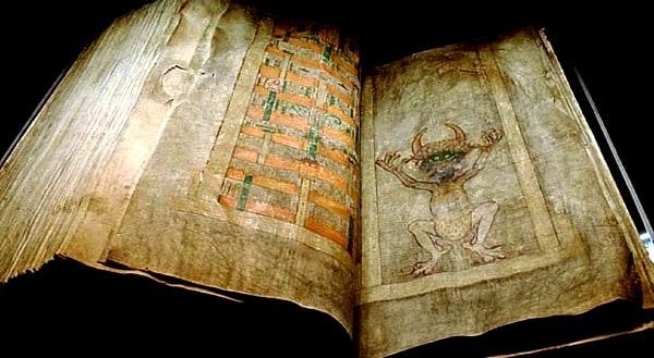 Codex Gigas a slavná ilustrace zobrazující ďábla