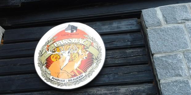 Paroháč a jeho tematické logo.