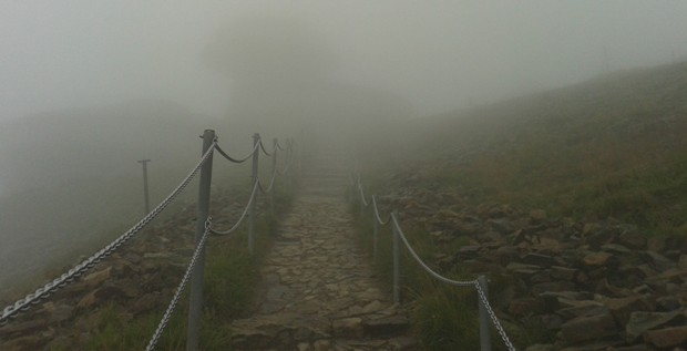 Mlha a mlha.