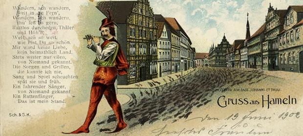 Novela Krysař je založena na staré německé pověsti.