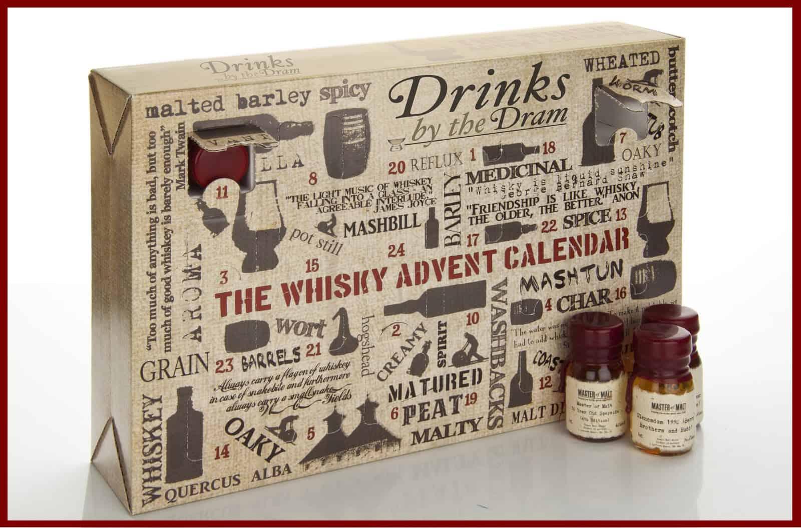 Je libo kalendář s whisky?