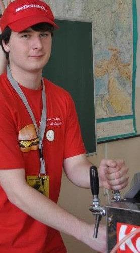 Zaměstnanec měsíce Pavel Hanuš.