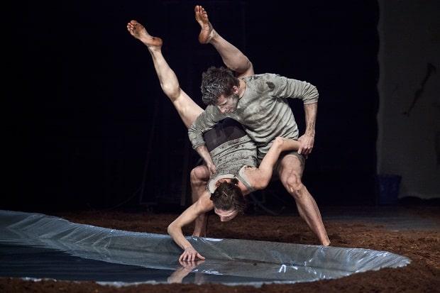 Jedna z mnoha tanečních kreací.