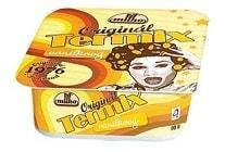 Vanilka od Milka. Méně tradiční kelímek s klaunem.