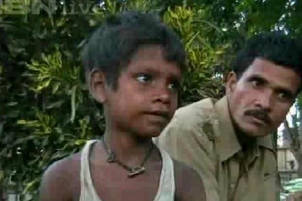 Mladý Amarjeet Sada.
