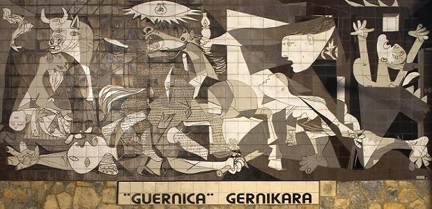 Profil Marie-Therese zdobí i slavnou Picassovu Guernicu.